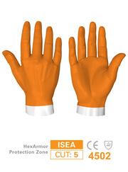 商品写真:HexArmor 3層構造の耐針手袋