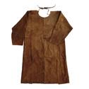 商品写真:ブラウンレザー袖付きエプロン BR-AP5107