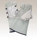 商品写真:床革手袋アルミ付き(3太郎) 32AL