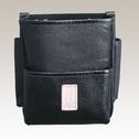 商品写真:革製腰ケース 黒表革
