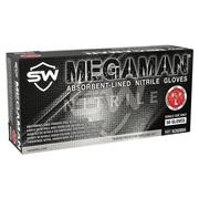商品写真:メガマン Megaman ニトリル手袋