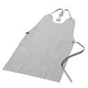 商品写真:床革後ゴム式胸前掛 AP-25