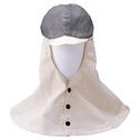 商品写真:帽子付き頭巾メッシュ CV-2-ME