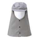 商品写真:グレー頭巾ロング CGZ-31