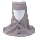 商品写真:フォーテックグレーロング頭巾メッシュ付き FH-214-ME